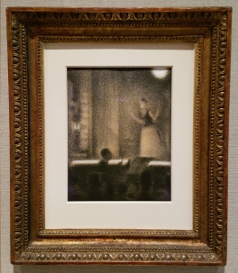 Georges Seurat, At the Gaite Rochechouart, ca. 1887-88