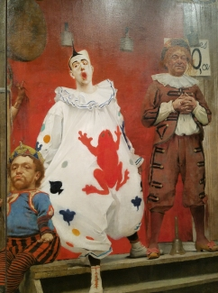 Fernand Pelez, Grimaces and Misery - The Saltimbanques, 1888